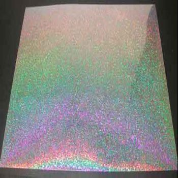 Holographic Paper Sheets