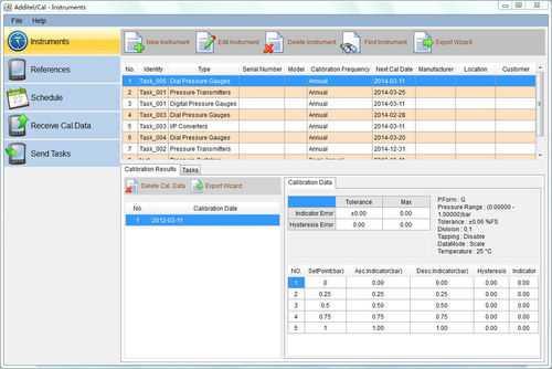Calibration Management Software - Calibration Management ...