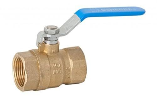 1 Brass Ball Valve