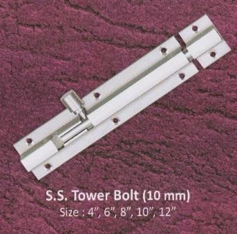 10 Mm Tower Bolt