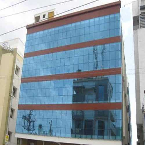 Acp Structure Glazing Works