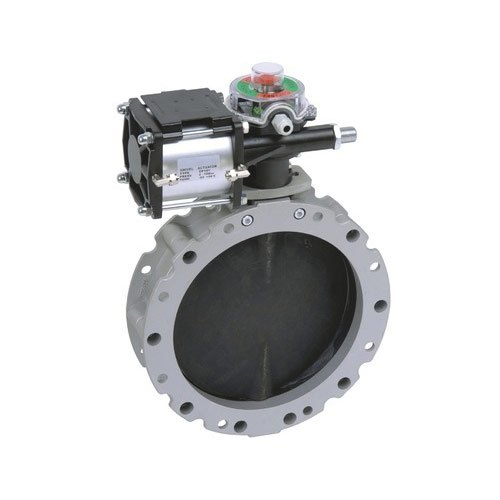 Actuator With Butterfly Valves