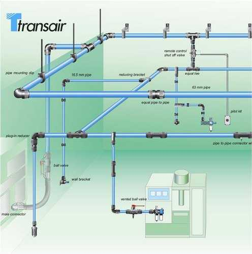 Air Compressor Piping