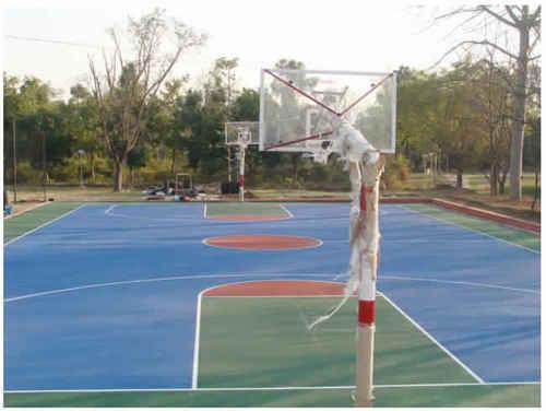 Basketball Wooden Court Flooring