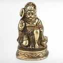 Brass Hanuman Statue