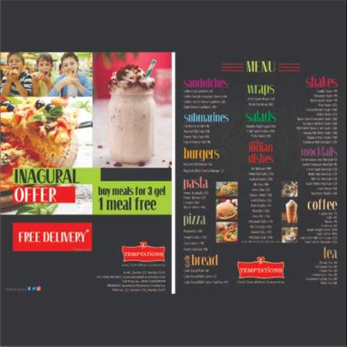 Brochures Graphic Designing Services