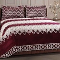 Bedspreads of textile materials