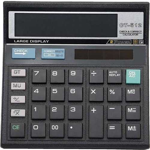 Citizen Desktop Calculator Black