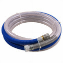 Rigid tubes, pipes and hoses, of polymers of ethylene