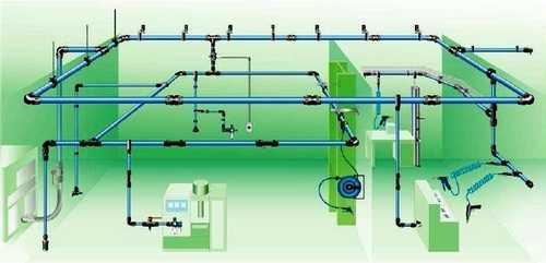 Compressed Air Aluminum Pipe