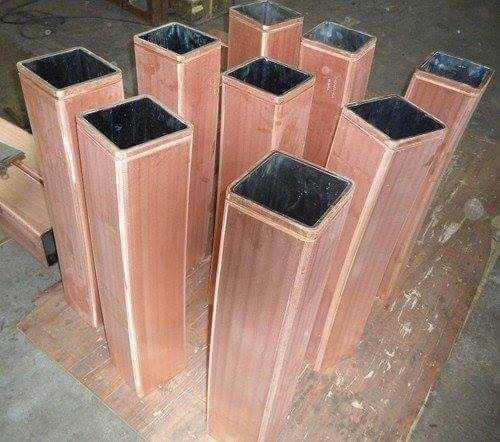 Copper Moulded Tubes