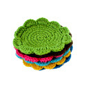 Knitted or crocheted bedspreads