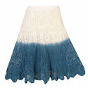 Women's or girls' skirts and divided skirts of cotton, knitted or crocheted
