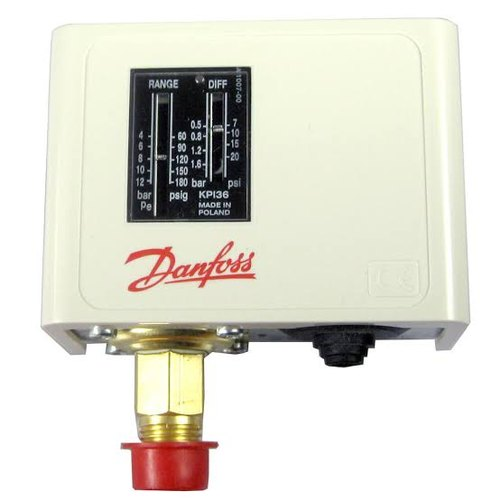 Pack of 2 Range: -0.2 Bar to 7.5 Bar Danfoss KP 35 Pressure Switch