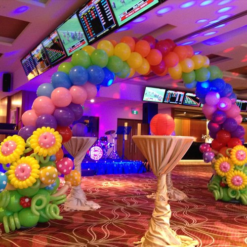 Decorative Service Birthday Party