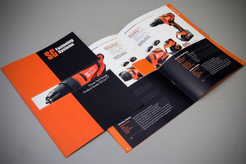 Designed Brochures Printing Services