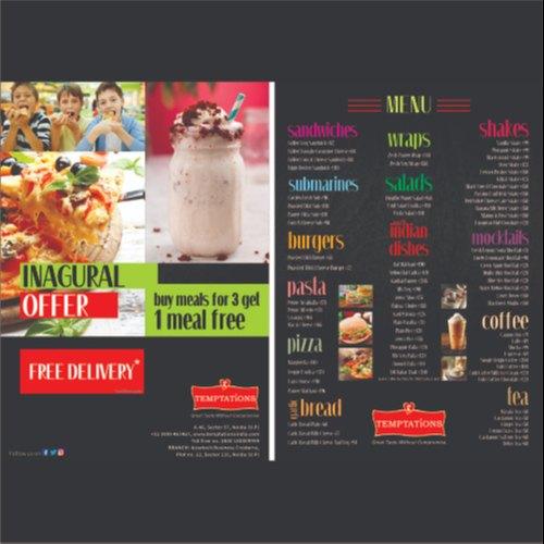 Designing Of Brochures Catalog