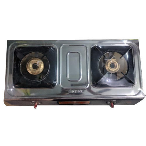 Double Gas Burner Stove