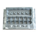 Trays and boxes for packing eggs, of moulded paper pulp