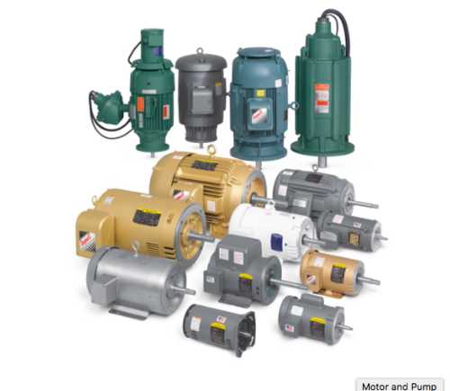 Electrical Motors Pumps