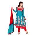 Women's or girls' ensembles of textile materials