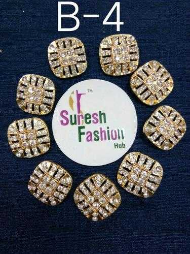 Fabric And Lace Buttons