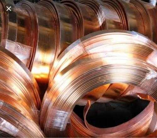 Fibre Covering Copper Strip
