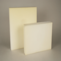 Plates, sheets, film, foil and strip, of flexible cellular polyurethane, unworked or not further worked than surface-worked or merely cut into squares or rectangles