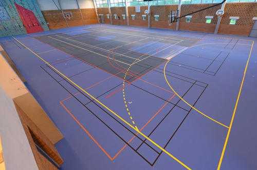 Flooring Basketball