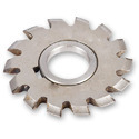 Interchangeable tools for milling metal, with working parts of sintered metal carbide or of cermets