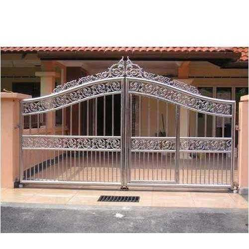 Grilled Gate Fabrication