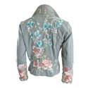 Women's or girls' jackets and blazers of artificial fibres, industrial and occupational