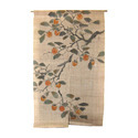 Curtains, incl. drapes, and interior blinds, curtain or bed valances of nonwovens