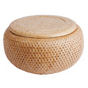 Basketwork, wickerwork and other articles, made directly to shape from bamboo plaiting materials or made up from goods of bamboo plaiting materials of heading 4601, and articles of loofah