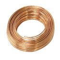 Wire of refined copper, with a maximum cross-sectional dimension of > 0,5 mm but <= 6 mm