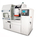 Flat-surface grinding machines, for working metal, in which the positioning in any one axis can be set up to an accuracy of at least 0,01 mm, numerically controlled