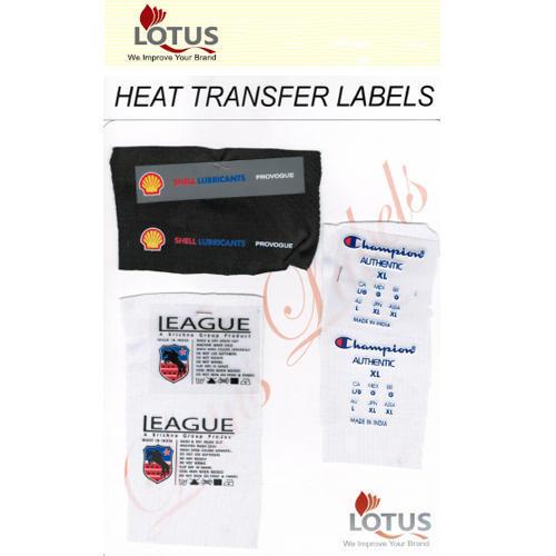 Heat Transfers Labels