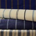 Cut weft pile fabrics, of man-made fibres