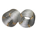 Wire of iron or non-alloy steel, in coils, containing by weight < 0,25% carbon, plated or coated with zinc, with a maximum cross-sectional dimension of < 0,8 mm