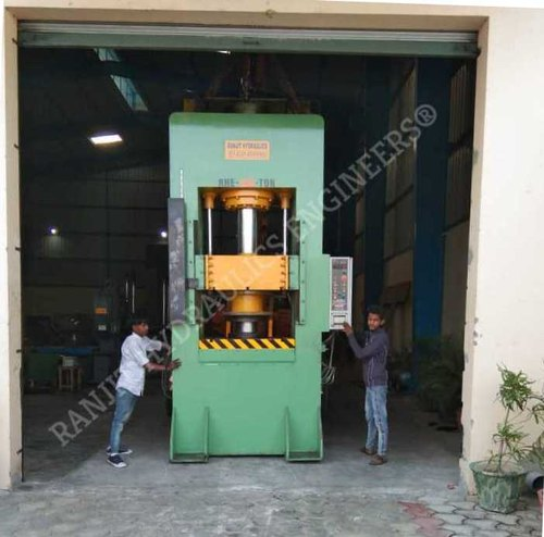 Hydraulic Deep Draw Double Action Press