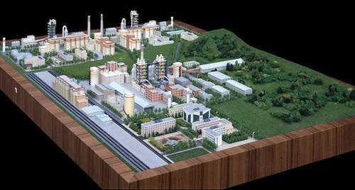 Industrial Landscape Model