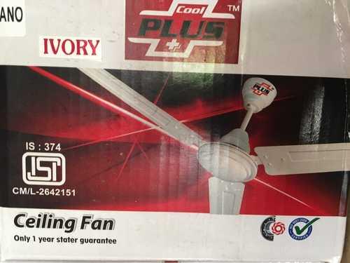 Ivory Ceiling Fan