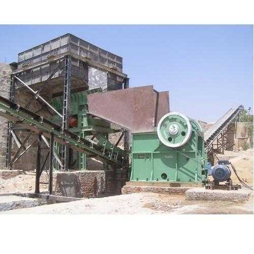 Jaw Crusher Stone Machine