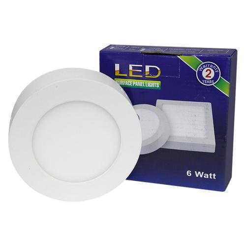 Led Panel Light Round Surface