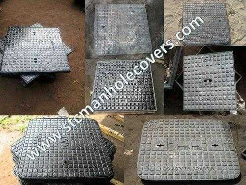 Manhole Cover With Square Frames