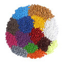 Rubber, unvulcanised, compounded with carbon black or silica, in primary forms or in plates, sheets or strip