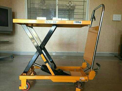 Material Handling Steel Trolley