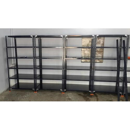 Mild Steel Slotted Angles Rack