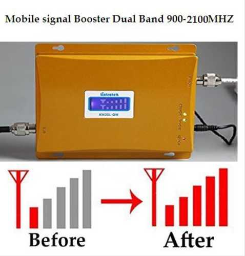 Mobile Signal Booster For 2g 3g