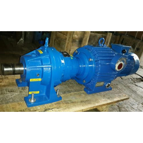 Motor With Gear Pump